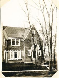 A. Garrard Macleod and Margaret Davis First Home - Ann Arbor, Michigan