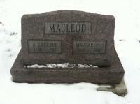 Archibald Garrard Macleod Margaret Laura Davis Headstone
