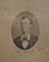 William McLeod from the Orillia Lacrosse Club 1874