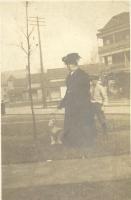 Minnie Eliza Garrard, A. Garrard Macleod, dog whiskers