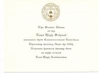 Margaret Davis High School Graduation