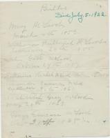 John McLeod Margaret Rutherford Childrens Birth Dates