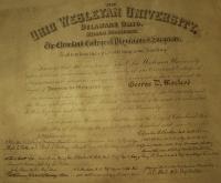George D Macleod MD Ohio Wesleyan