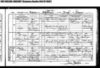 Marjory McLeod Battison 1807 Death