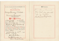 George Duncan Macleod Minnie Garrard marriage